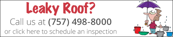 leaky roof repair virginia beach